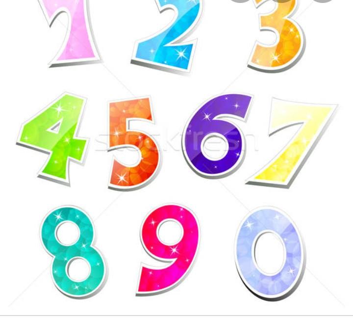 Numere in engleză