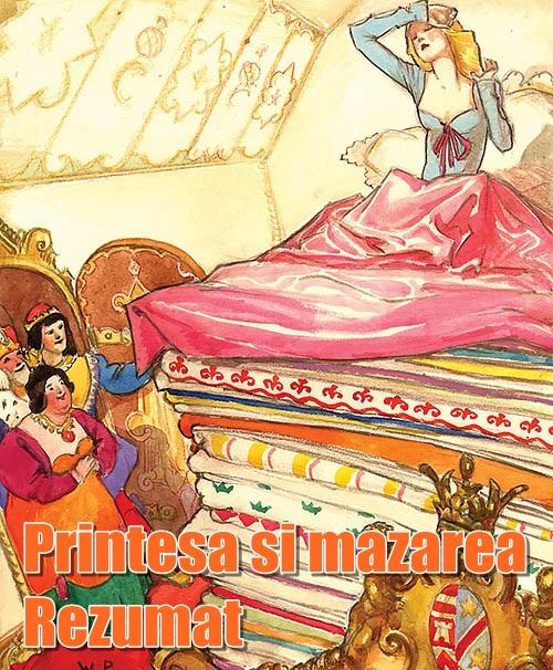 Prințesa și mazărea-poveste scurtă