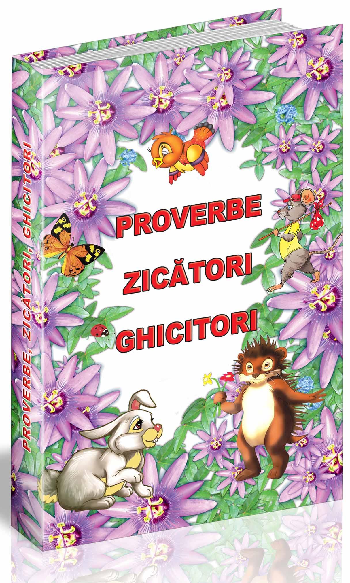 Proverbe și zicători pentru micii scriitori
