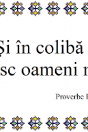 Proverbe populare românești