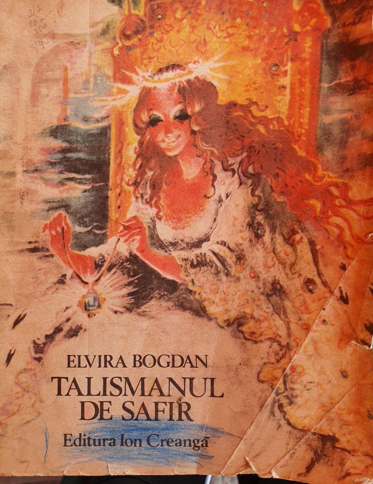 Talismanul de safir de Elvira Bogdan, cap al 3-lea – Cerbul