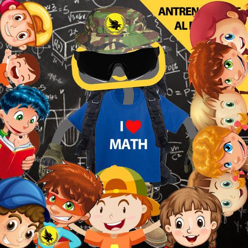 Antrenamentele de Matematica ale Fortelor Speciale Kidibot