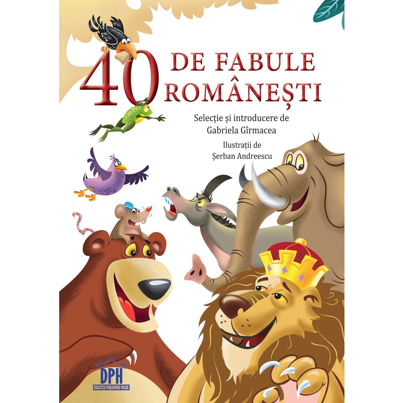 Zimbrul si vulpea  – fabula din colectia Fabule Romanesti, editia 2018
