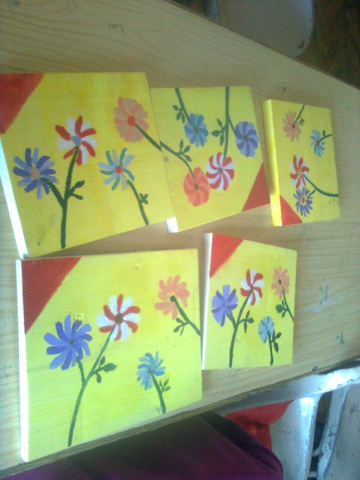 Plantare copaci si flori in gradina scolii