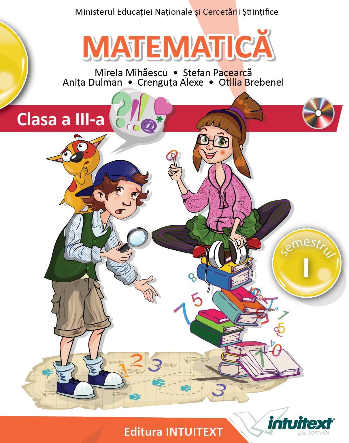 Matematică clasa ||| Ediția Caleb