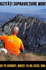 Curiozități supraviețuire montană – LIVE, cu Alex Codreanu