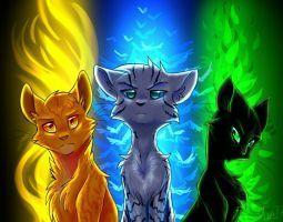 Cât de bine știi seria de cărți pisicile războinice?