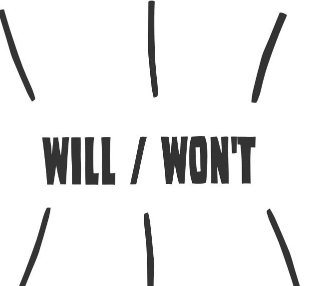 Fill in using will or won't