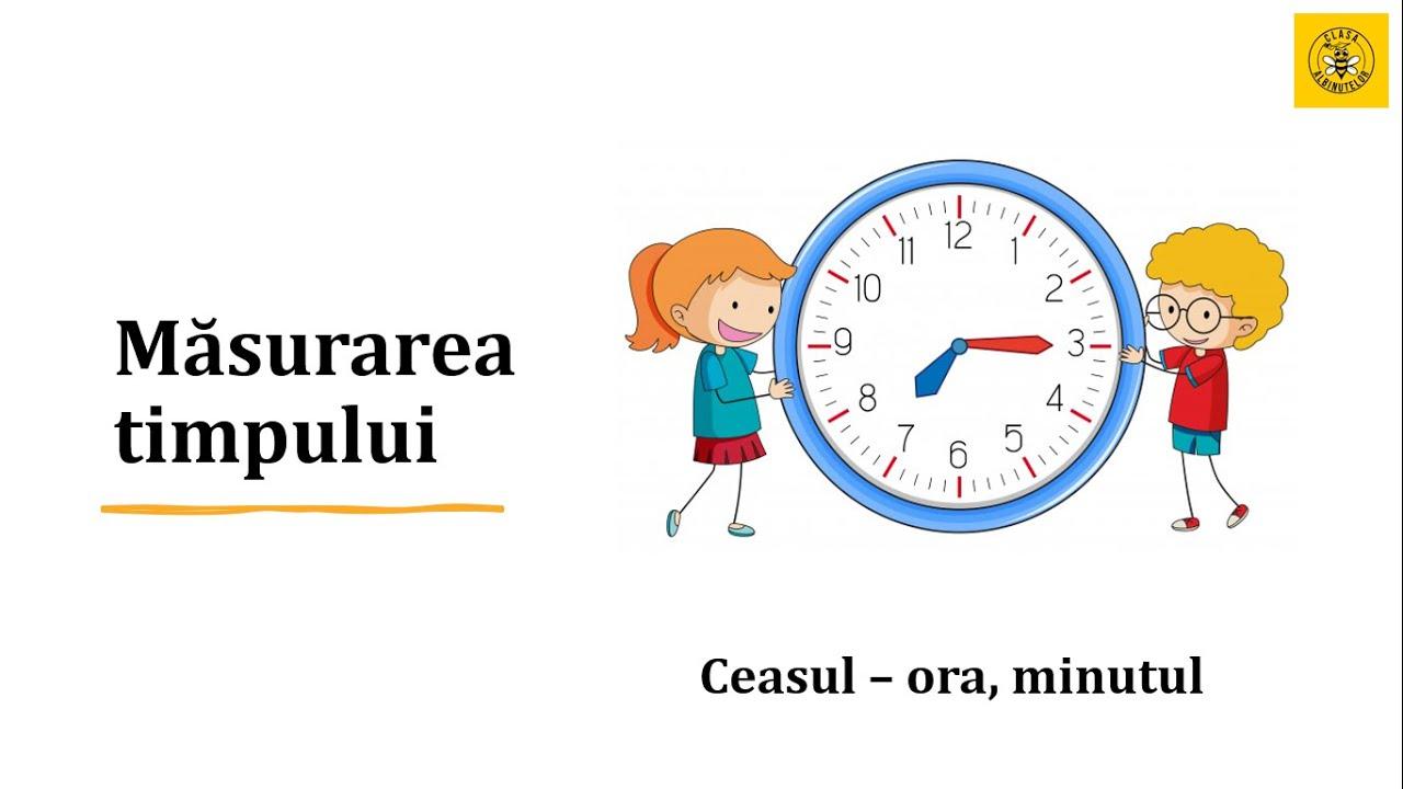 Măsurarea timpului – [8]