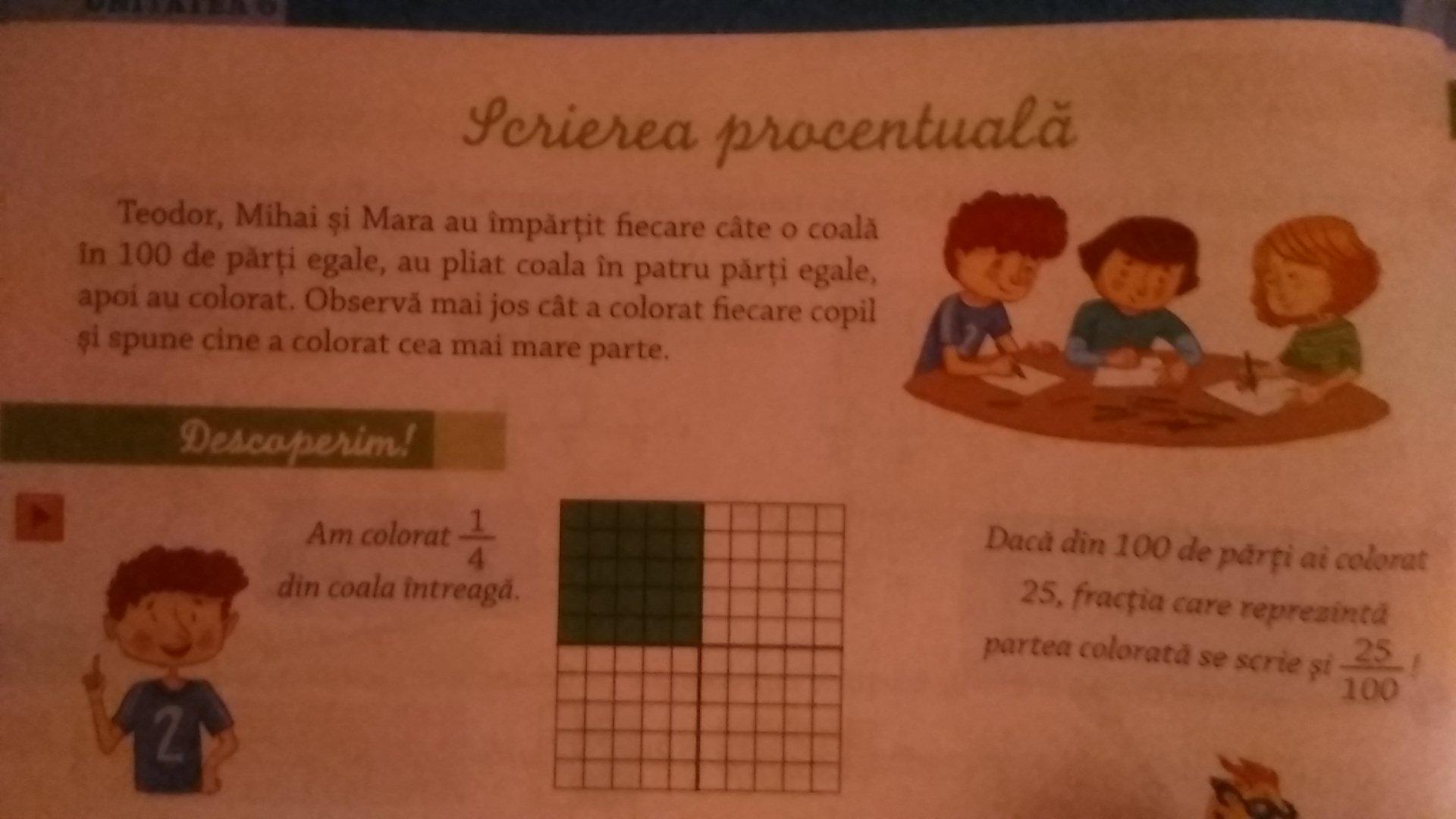 Matematică clasa 4