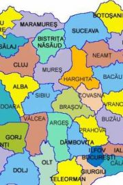 Orașe și județe din România