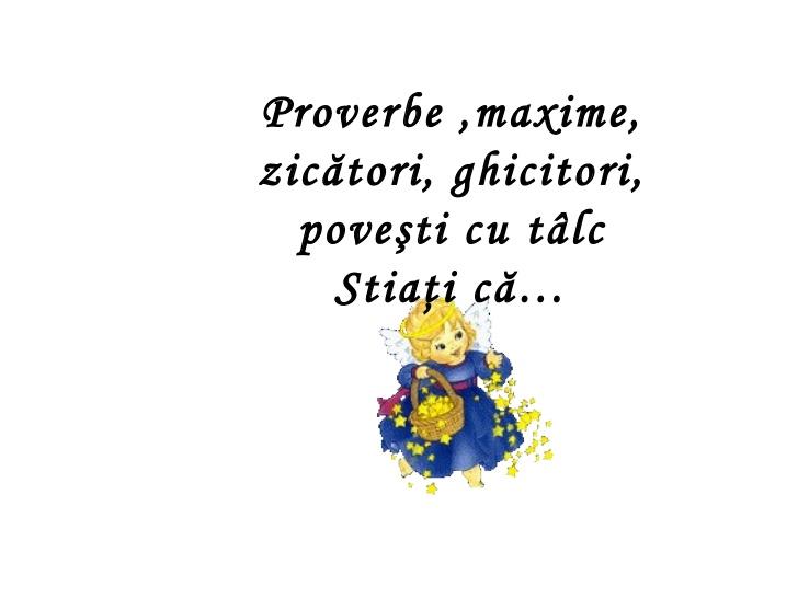 Proverbe  – [102]
