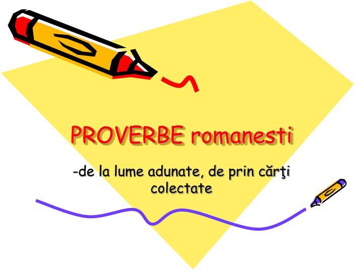 Proverbe  – [98]