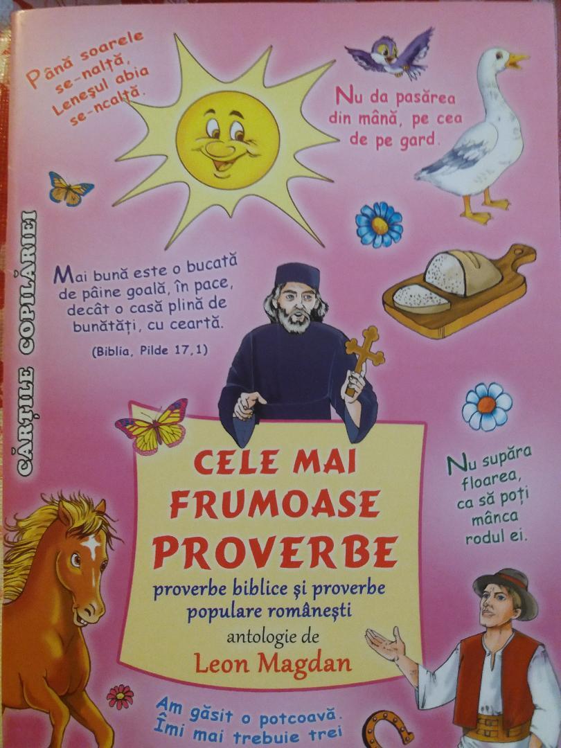 Proverbe biblice şi populare 2