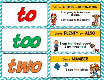 The difference between the homophones to, two, and too