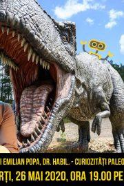 Curiozități paleontologie și geologie, cu Mihai Popa