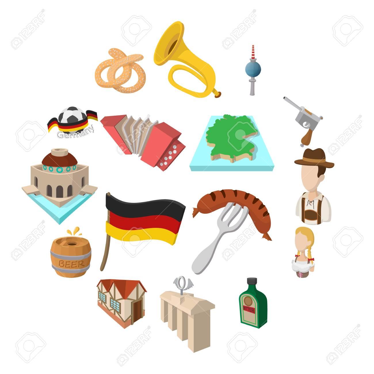 Deutschland – Symbole, Speisen, Orte,Persönlichkeiten