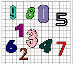Numerele naturale de la 0 la 31