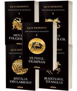 Percy Jackson și Olimpienii- Rick Riordan
