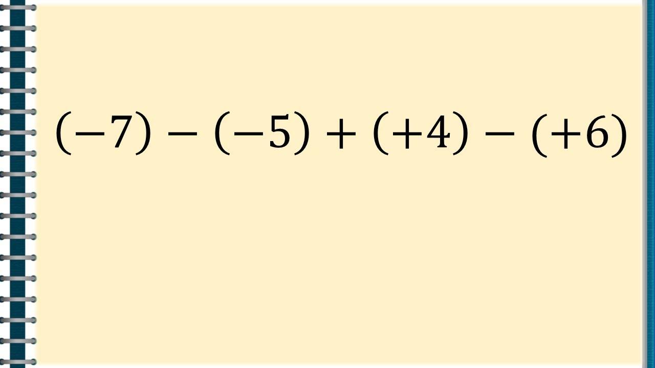 Adunarea si scaderea numerelor intregi – [2]