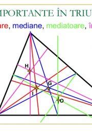 Linii importante în triunghi – [3]