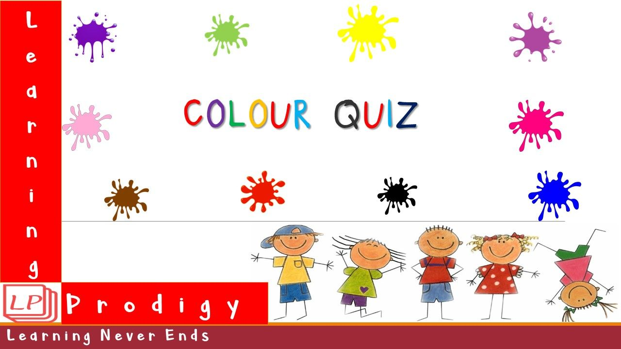 Colours quiz for all the kids