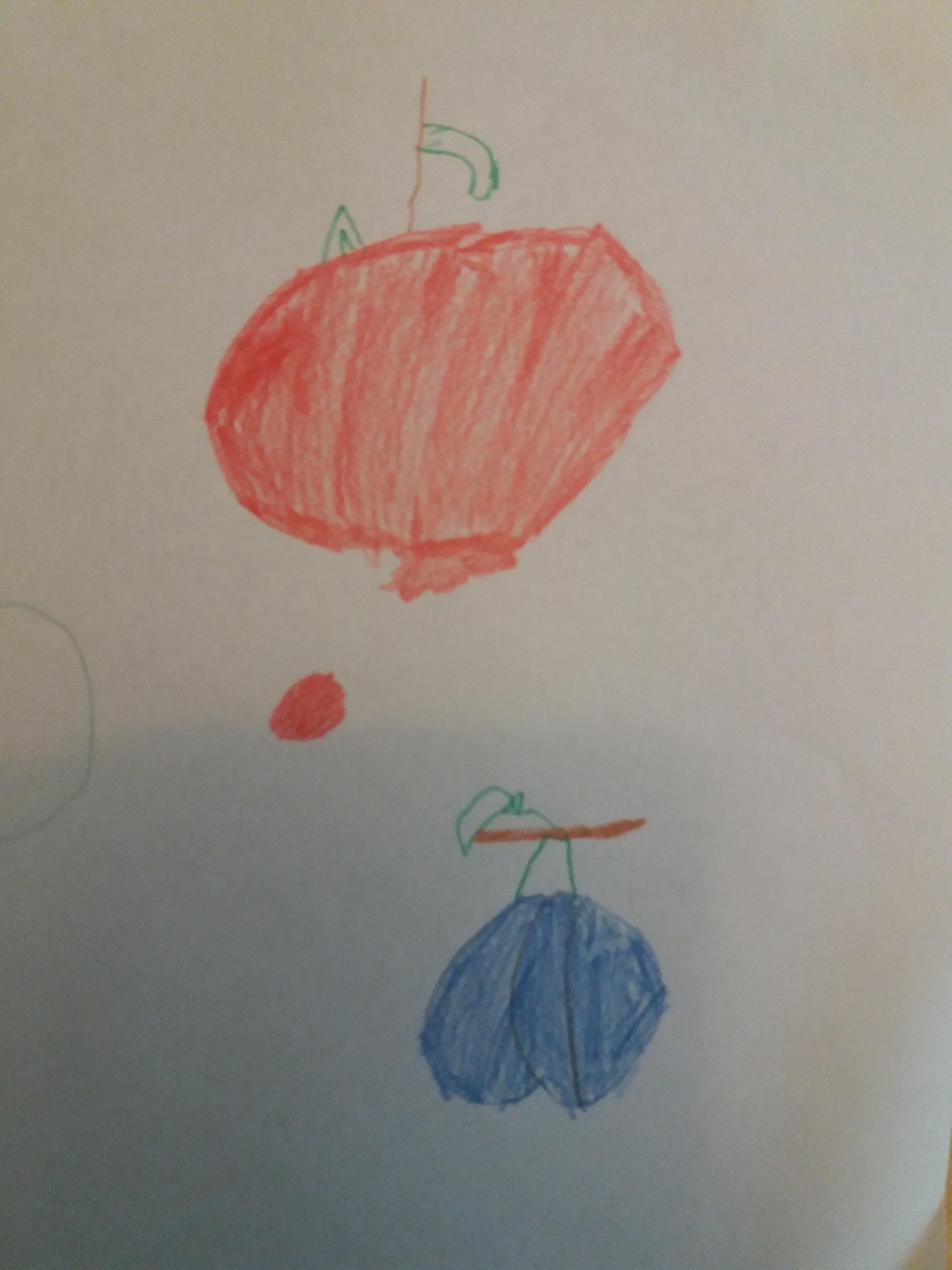 Învatarea fructelor in engleza
