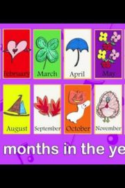 Months of the year – [3]