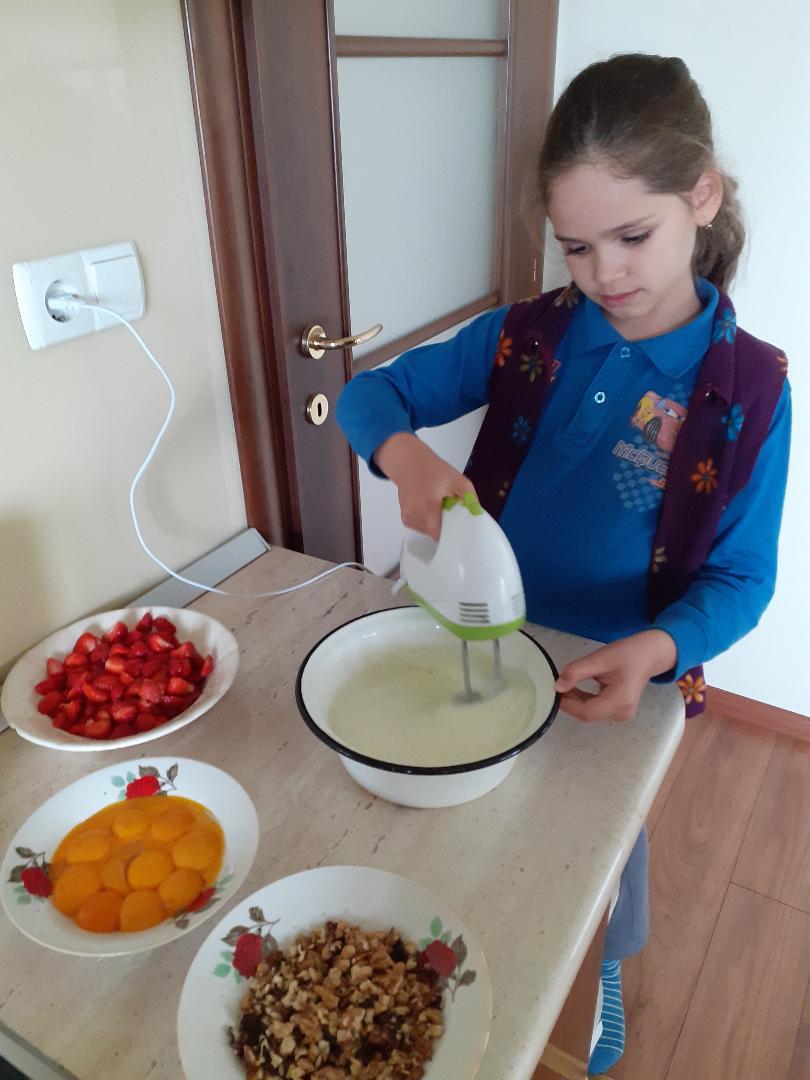 Pregatirea tortului!
