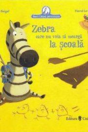 Zebra care nu voia să meargă la școală