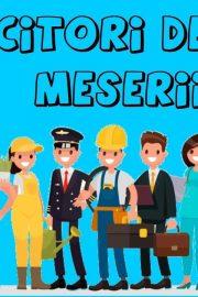 Meseriile in engleza