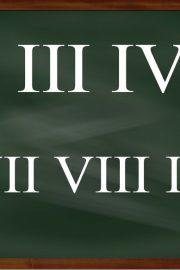 Cifrele romane – [5]