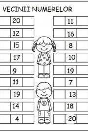 Vecinii numerelor de la 0 la 30