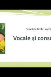 Vocale și consoane  – [2]