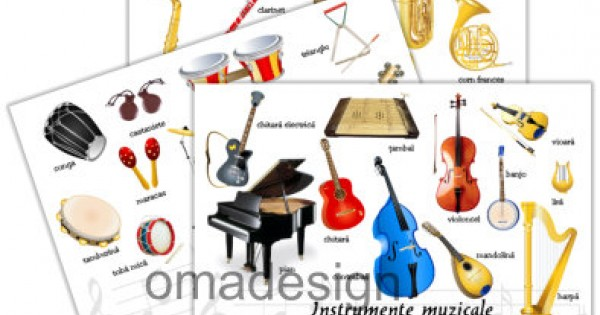 Vocalele și consoanele instrumentelor muzicale
