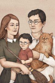 Cât de multe știi despre familia POTTER?