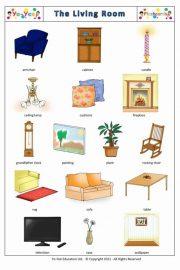 Mobiliere în engleză